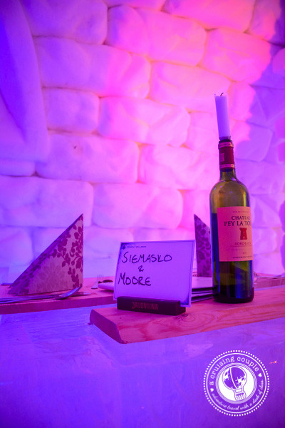 That Time We Slept In a Hotel Made of Snow – Our Experience at the Snow Village, Finland - Snow Village Finland Ice Restaurant Reservation