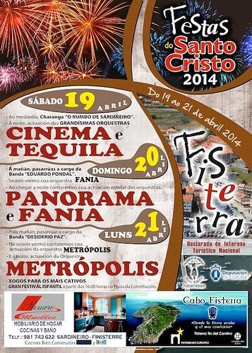 Fisterra 2014 - Santo Cristo - cartel