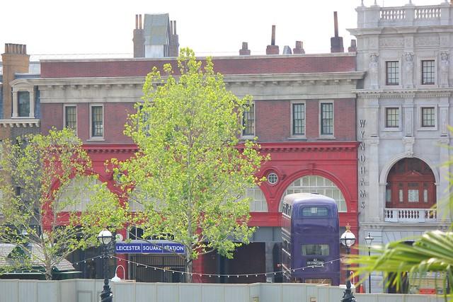London at Universal Studios embankment