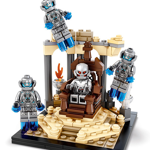 【追加包裝圖!】向經典場景致敬!LEGO SDCC 2015 限定商品:奧創王座