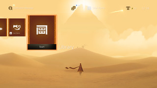 Journey Dynamic PS4 Theme