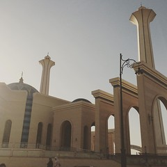 Another view for Field Marshal #Tantawy Mosque in New #Cairo #Egypt #Buildings #Citizenjournalism #Blogger