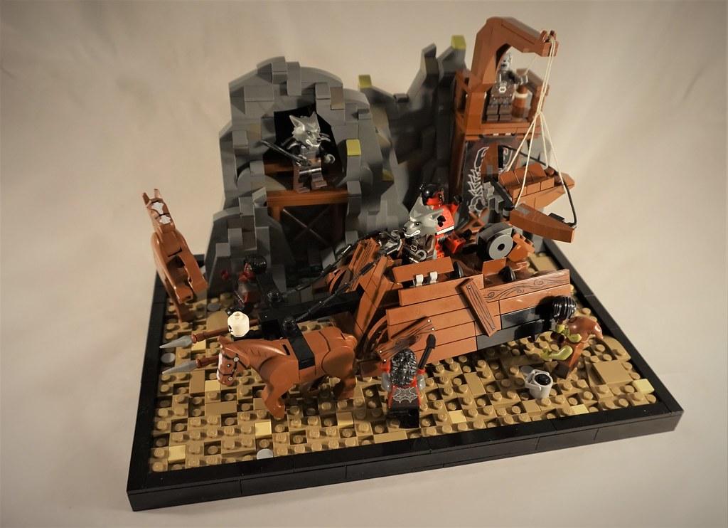 GoH: Challenge V, Spire Battle Wagon (custom built Lego model)