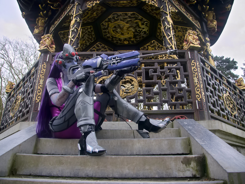 related image - Shooting Fatale - Overwatch - Enaelle's Arts - Bruxelles -2017-03-03- P2010045