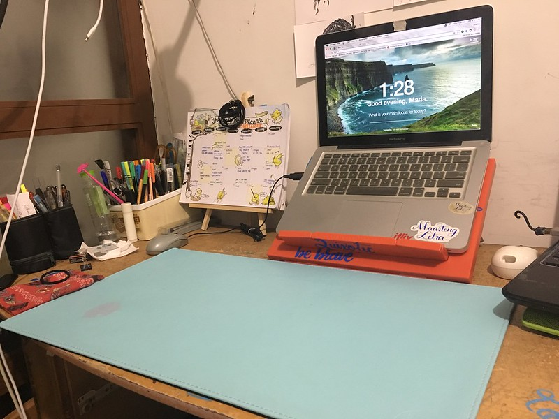 Share something about your desk from your blogging hiatus