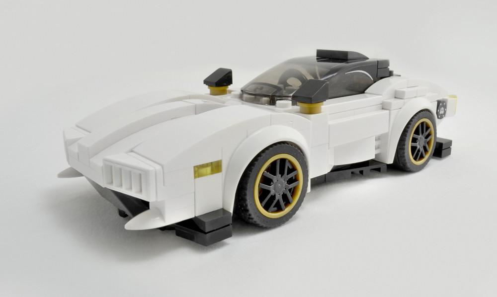 Disruptor GT (custom built Lego model)