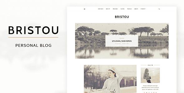 Bristou WordPress Theme free download