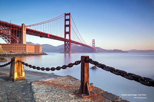 Golden Gate Bridge - Fort Point