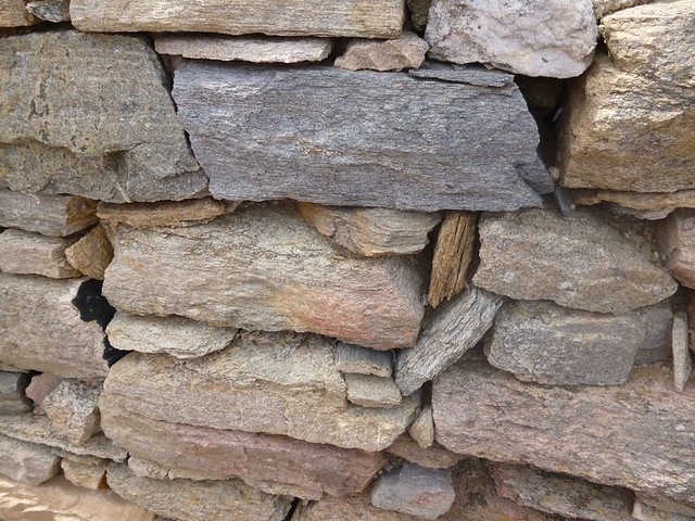 Greek stone walls