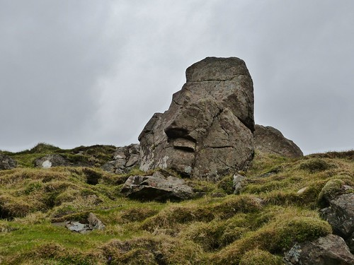 Skye version of Easter Island Moai statue