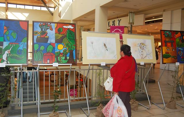 Exposición en Mall Portal Temuco.