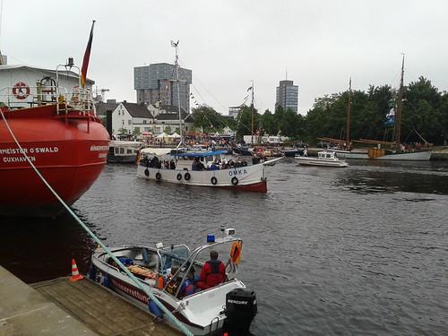 Impressionen vom Harburger Binnenhafenfest 2013