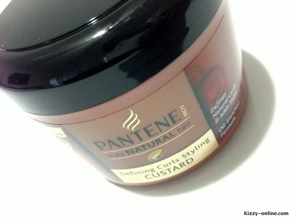 Pantene Truly Natural Hair Defining Curls Styling Custard