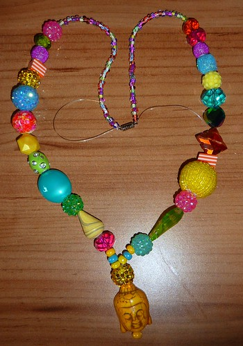 Bollywood Buddha Necklace by Bebopgirl1969