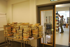 Mer enn 5000 bøker lagt ut for salg