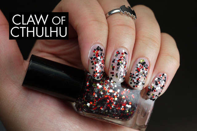 Fandom Cosmetics Another! Swatch (over OPI Don't Touch My Tutu!)
