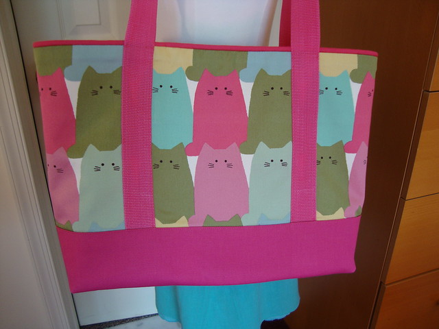 New Look  view E: cat bag done!