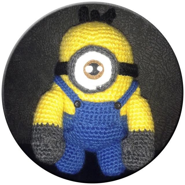 Knitting Pattern Minion Despicable Me : Knit Minion