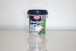09 - Zutat Creme fraiche mit Kräuter / Ingredient creme fraiche with herbs