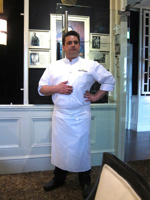 Executive Pastry Chef Darren Harding