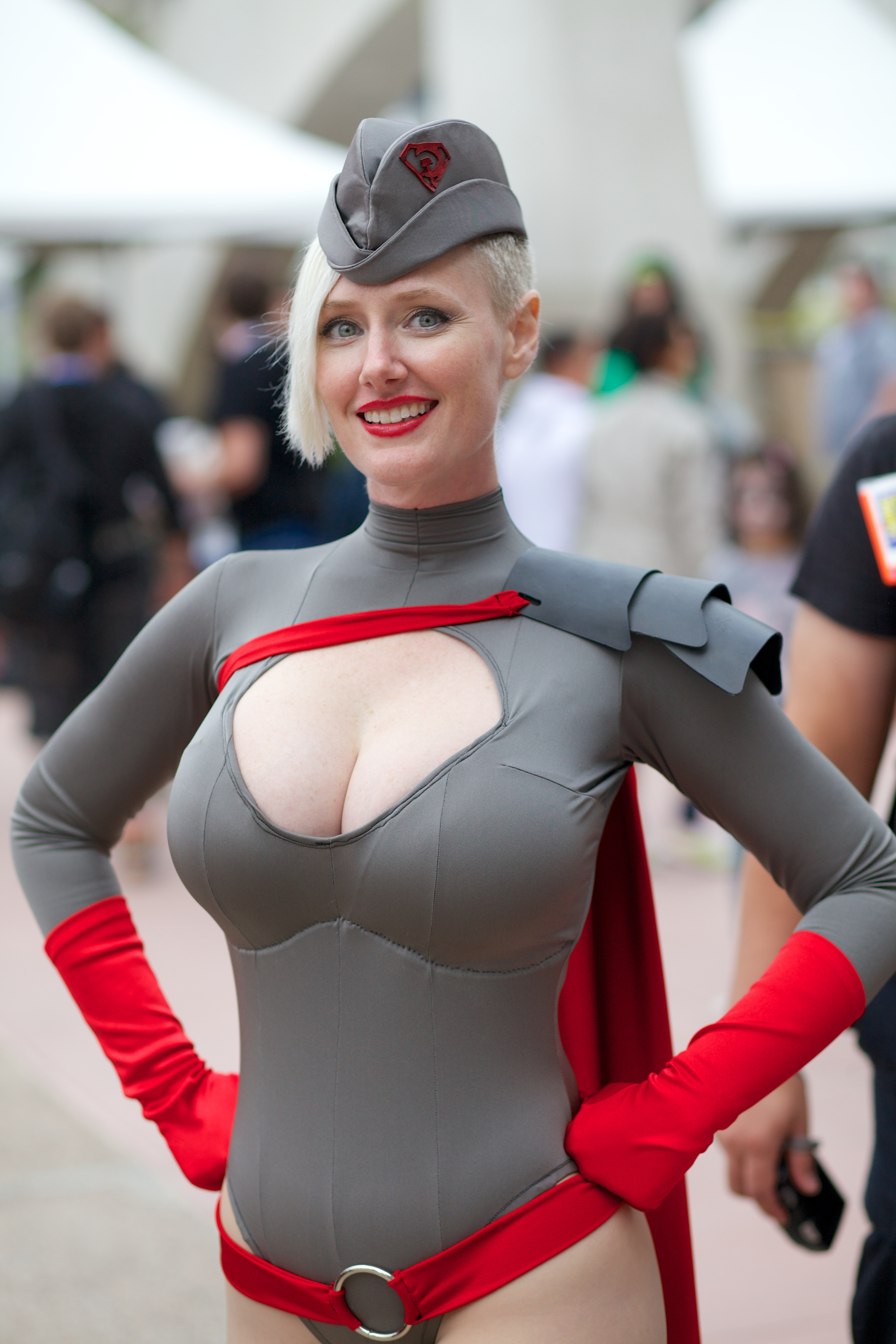 Woman cosplay boobs nude gallery