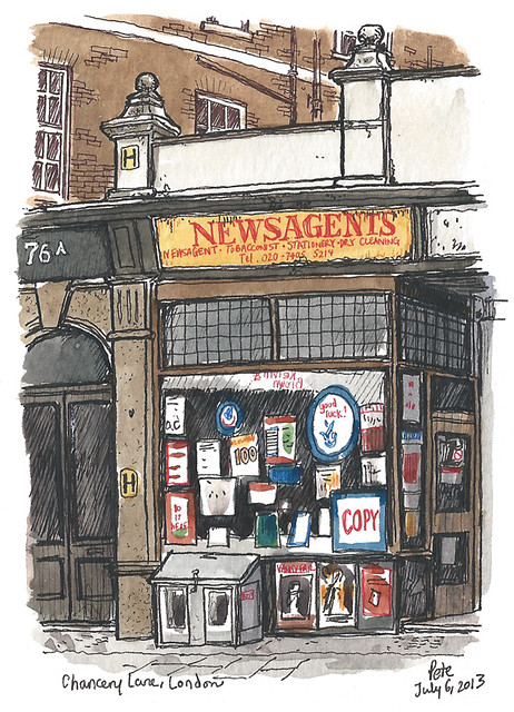 Newsagent Chancery Lane