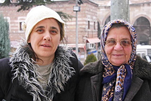 Women in Edirne, Turkey エディルネの女性たち