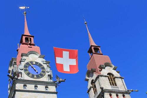 Fete Nationale Suisse - Nationalfeiertag Schweiz - Festa nazionale svizzera - Swiss National Day - by Nouhailler