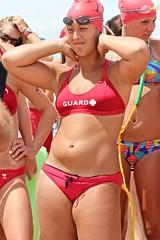 beach volleyball(0.0), swimsuit bottom(1.0), clothing(1.0), muscle(1.0), spring break(1.0), swimwear(1.0), bikini(1.0),