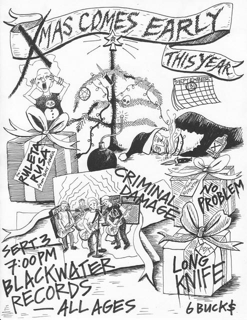 9/3/13 RuletaRusa/NoProblem/CriminalDamage/LongKnife