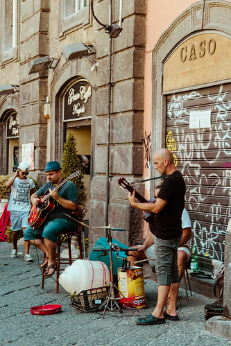 Street band by Davide Restivo