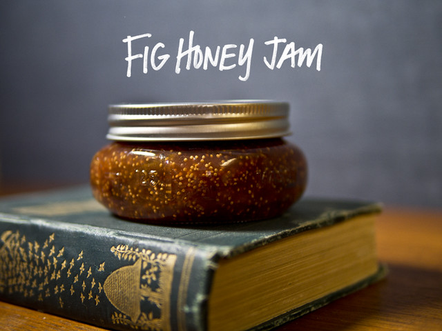 Small Batch Preserving: Fig Jam Recipe (with honey) Honey Fig