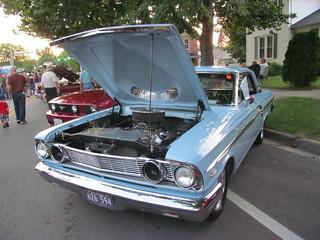 64 Ford Fairlane w/Thunderbolt Hood | Morris Cruise Night, 0
