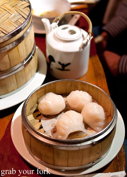 har gao prawn dumplings