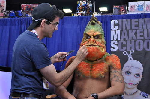 SDCC 2013 : Cinema Makeup School #1