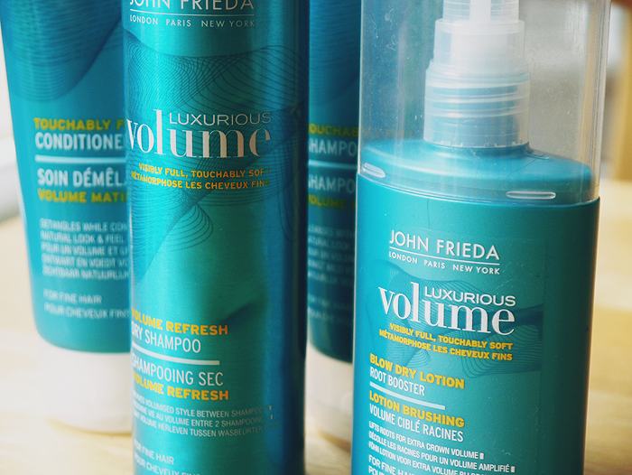 john frieda luxurious volume hair care range review 2