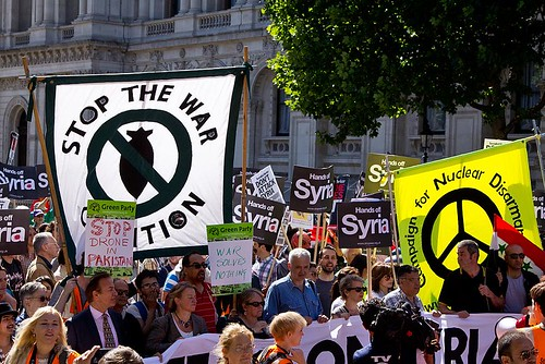 Syria: Stop the War march, London, 31 August 2013