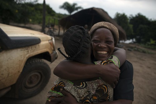 UNHCR News Story: The shared bond between Nansen winner and those she helps