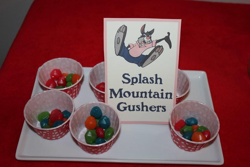 splash mountain gushers