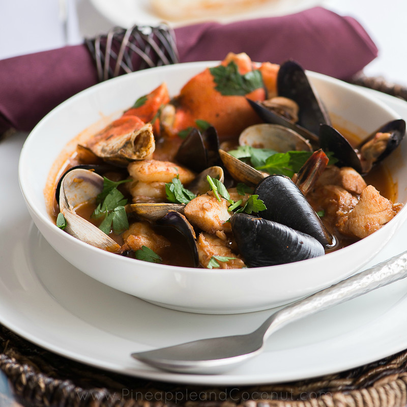 Spicy Cioppino My Way www.PineappleandCoconut.com #worldmarket #gourmetgetaway  (3)