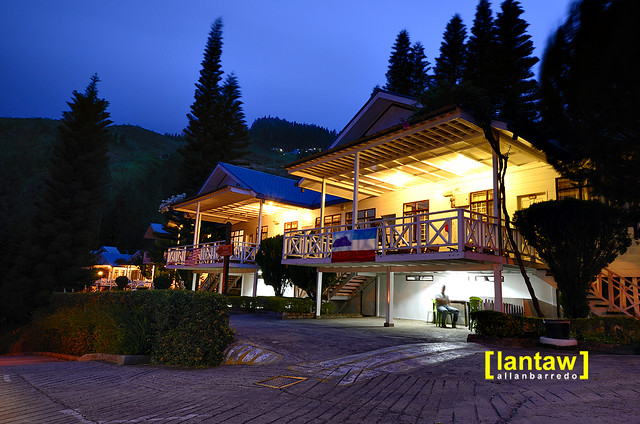 Evening at Kinabalu Pine Resort