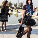 Someone Poses, Someone Walks (Harajuku Fashion Walk Pescara 2013)