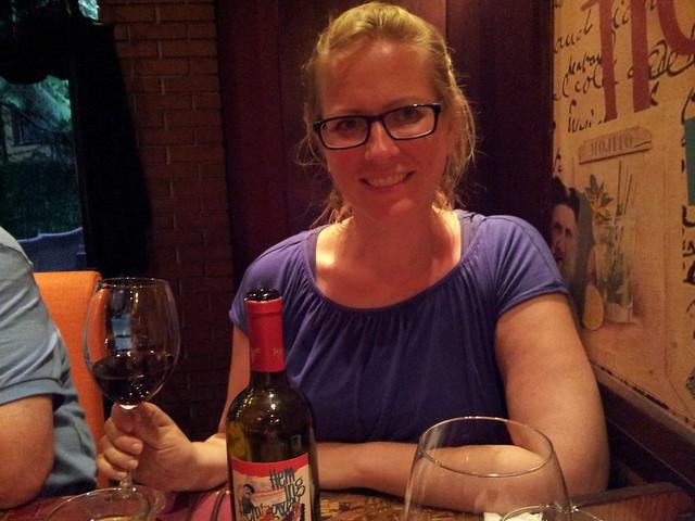 Wine at Hemingway BBQ & Grill