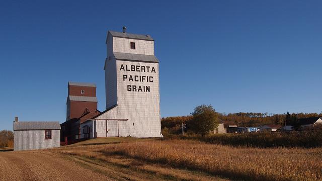 Meeting Creek Alberta Grain Elevator