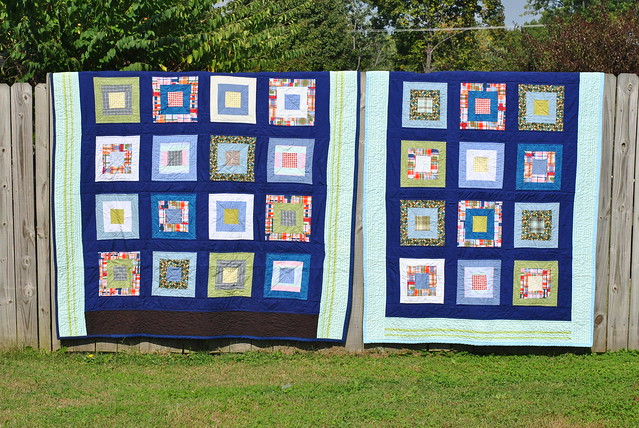 Full and Twin - Framed Shirts Quilts