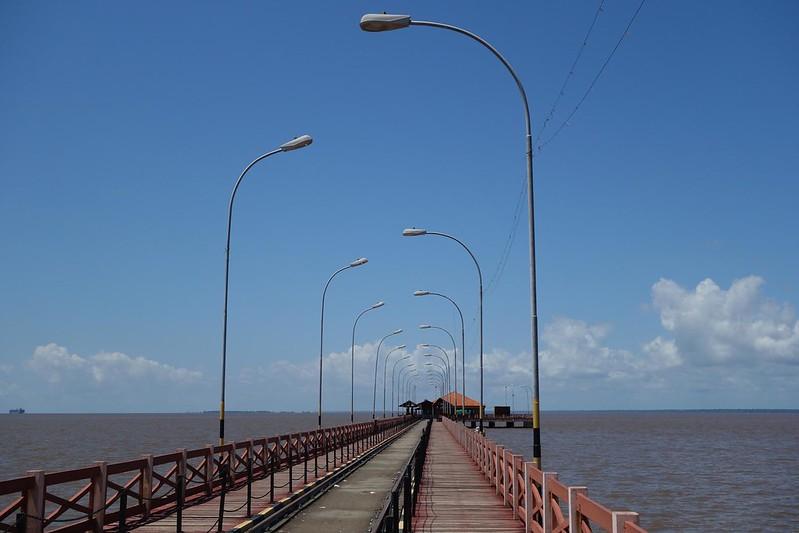 Trapiche Eliezer Levy em Macapá, Amapá Brasil