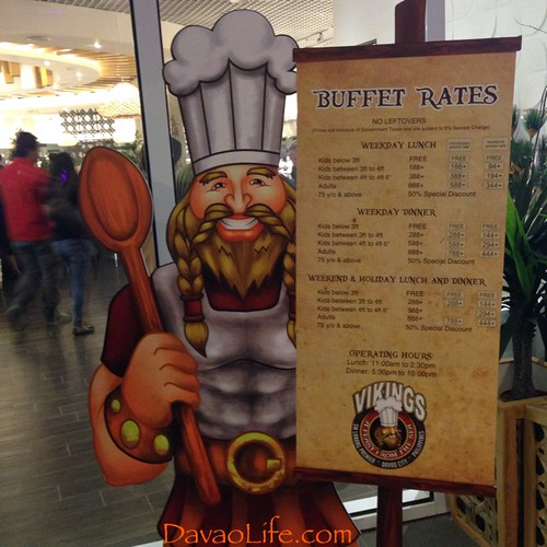 Vikings Luxury Buffet Restaurant Opens in SM Lanang Premier