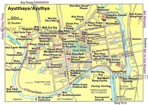 ayutthaya map too