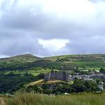 Harlech Castle & Morfa sand dunes