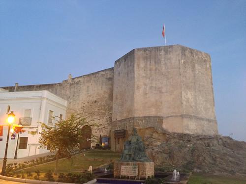 Tarifa Spain castillo de Guzman el Bueno